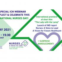 12 мая – виртуальная встреча с Международным советом медсестер