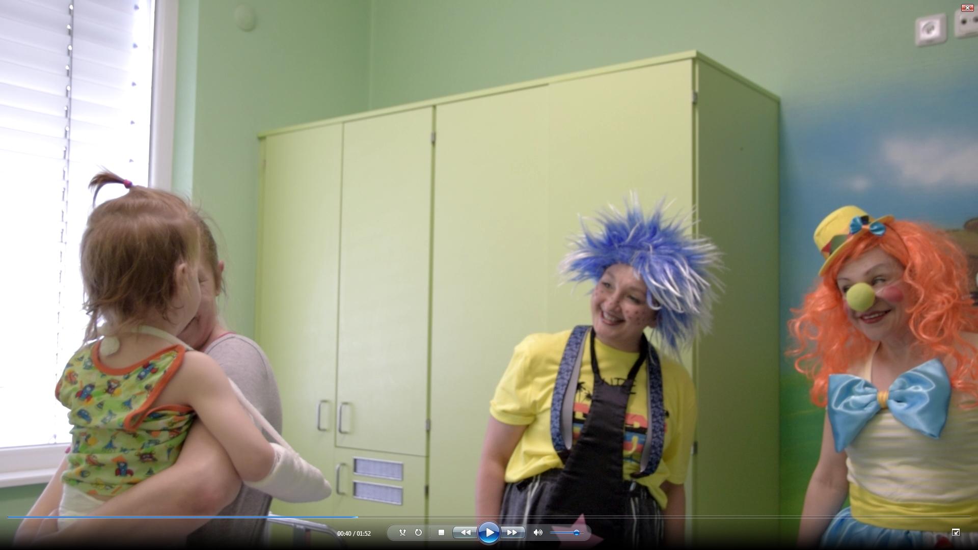 1 июня сотрудники ФГБУ «ФЦТОЭ» Минздрава России (г. Смоленск) подарили настоящий праздник своим маленьким пациентам