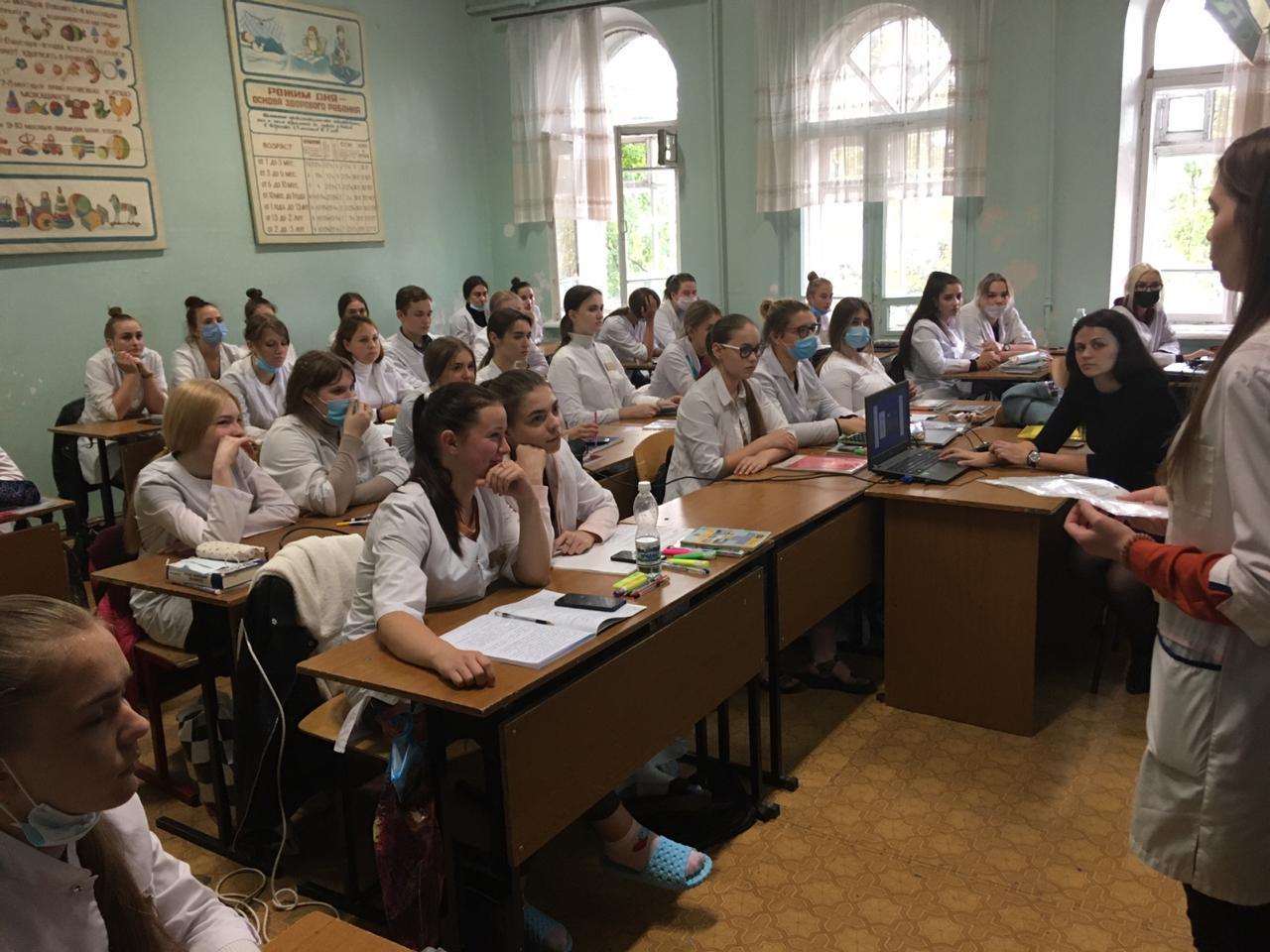 """17 сентября в Пензе стартовала серия региональных семинаров для школьников и студентов, посвященных """"Всемирному дню безопасности пациентов""""."""