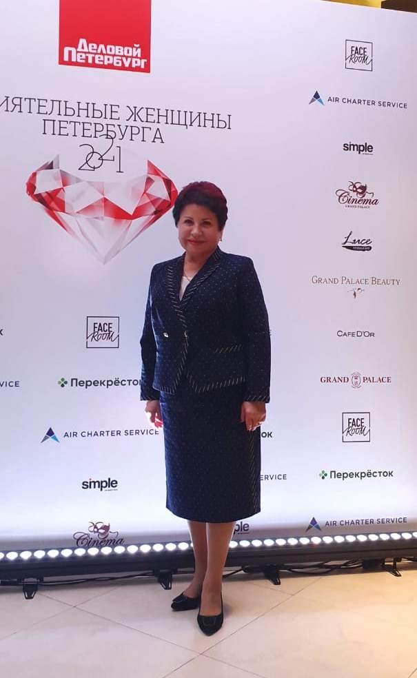 Самая влиятельная женщина Санкт-Петербурга